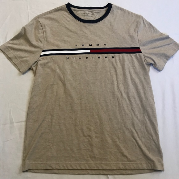 1a725cbb Tommy Hilfiger Shirts | Vintage Spell Out Flag T Size Large | Poshmark